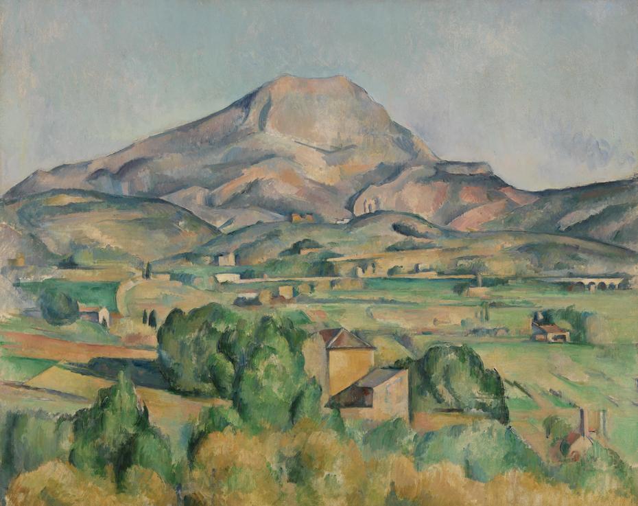 Mont Sainte-Victoire (La Montagne Sainte-Victoire)