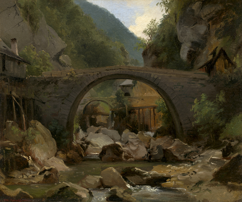 Mountain Stream in the Auvergne