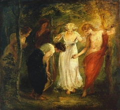 Nymphs Discover the Narcissus