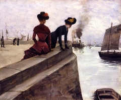 On the Jetty, Le Havre