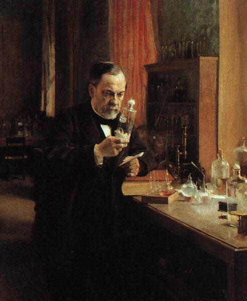Pasteur's portrait by Edelfelt