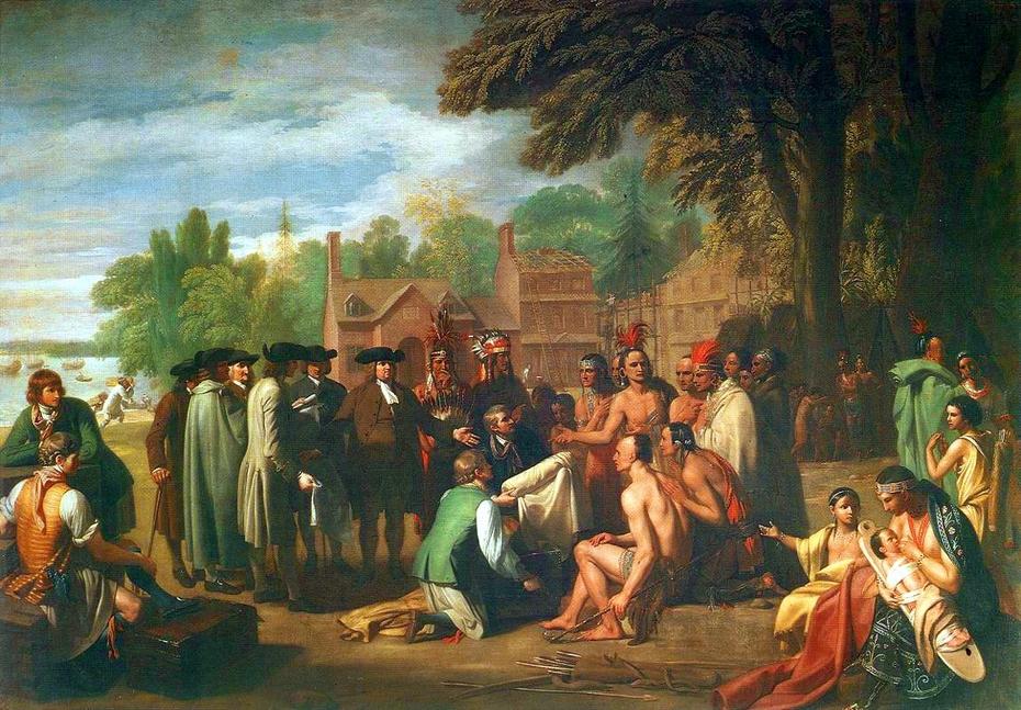 Penn's Treaty with the Indians