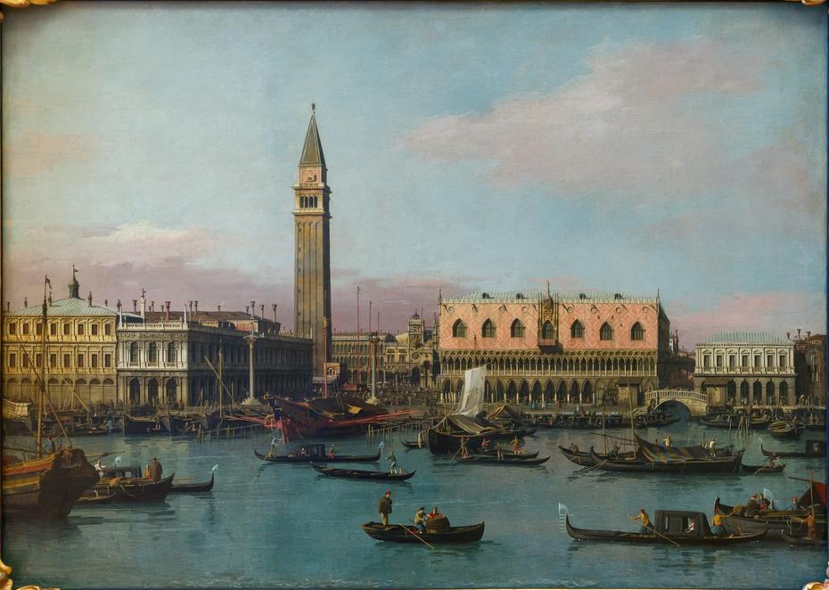 Piazzetta and Riva degli Schiavoni, Venice