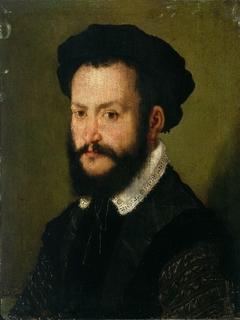 Portrait d'homme brun
