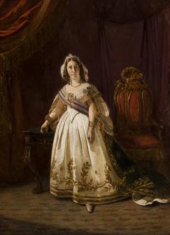 Portrait de l´impératrice du Brésil, Tereza Cristina