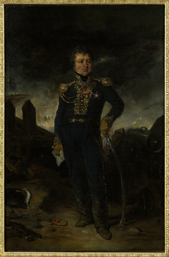 Portrait du général Joseph-Léopold Sigisbert Hugo