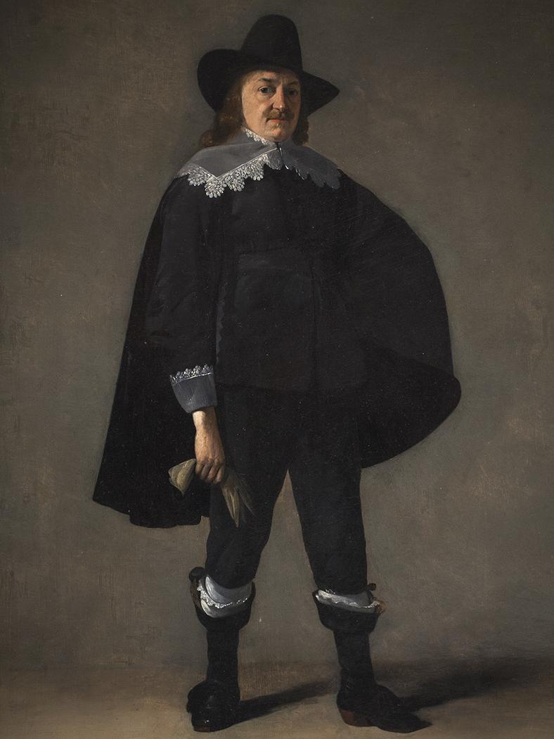 Portrait of a Gentleman in Black
