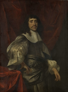 Portrait of a Man, thought to be Christoffel van Gangelt, Second Husband of Lucretia Boudaen