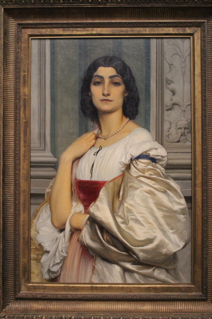 Portrait of a Roman Lady (La Nanna)
