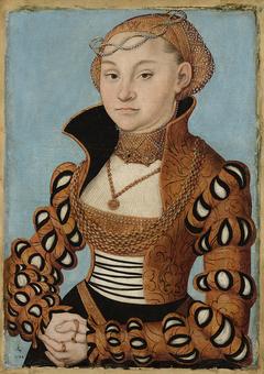 Portrait of a Saxon Noblewoman