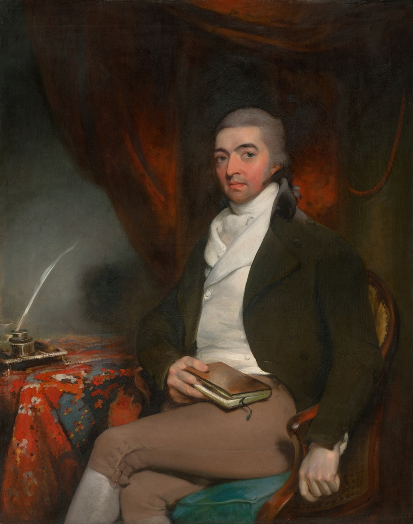 Portrait of a Seated Man with a Book