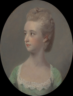 Portrait of a young woman, possibly Miss Nettlethorpe