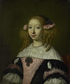 Portrait of Adriana Jacobusdr Hinlopen, Wife of Johannes Wijbrants