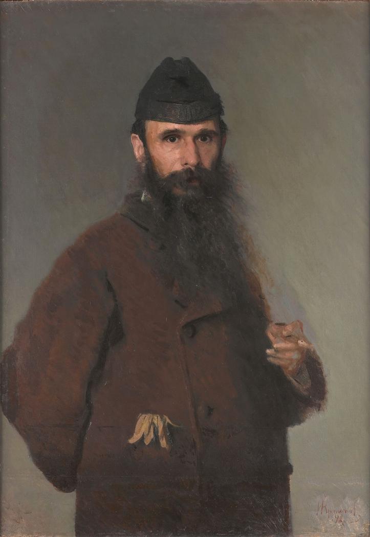 Portrait of Alexander Dmitrievich Litovchenko