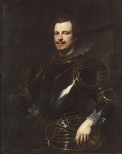 Portrait of an Italian Nobleman in Armor
