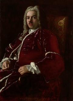 Portrait of Cornelis Calkoen, Ambassador to the Ottoman Empire in Constantinople (Istanbul)