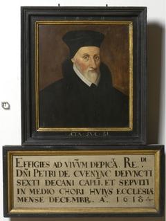 Portrait of Dean Petrus Cuenync