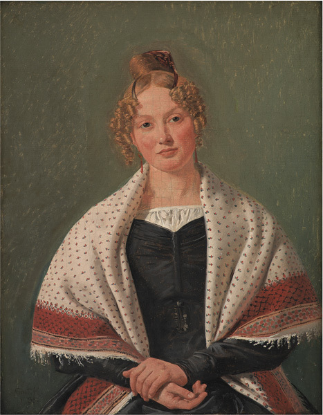 Portrait of Hanne Wanscher, née Wegener