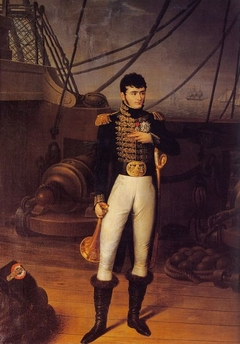 Portrait of Jerome Bonaparte on the Bridge of a Ship