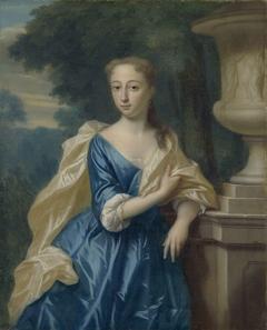 Portrait of Justina Johanna Ramskrammer, Wife of Isaac Parker