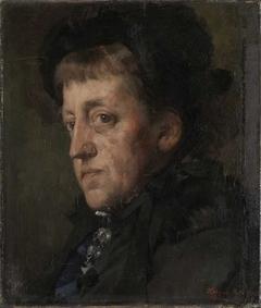 Portrait of Kitty (Christine) Lange Kielland