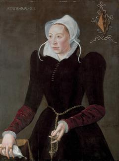 Portrait of Marytge Dedel