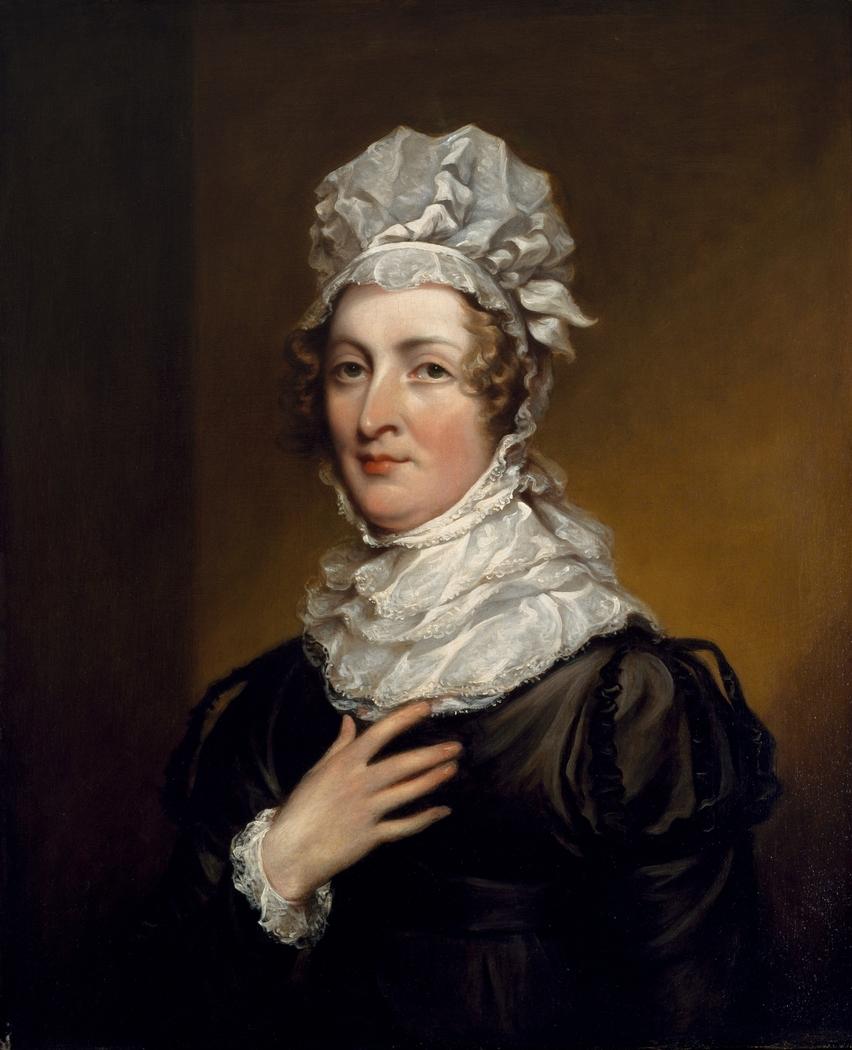 Portrait of Mrs. John Trumbull (Sarah Hope Harvey, 1774–1824)