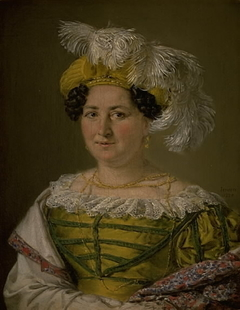 Portrait of Mrs. Pauline Hagen