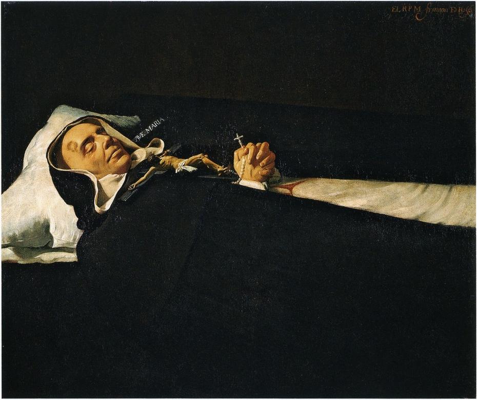 Portrait of Saint Simon of Rojas dead