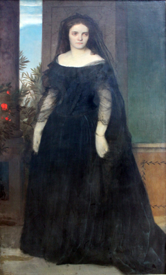 Portrait of the Actress Fanny Janauschek