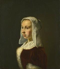 Portrait of the Artist's Wife, Cunera van der Cock