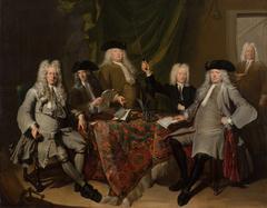 Portrait of the Inspectors of the Collegium Medicum