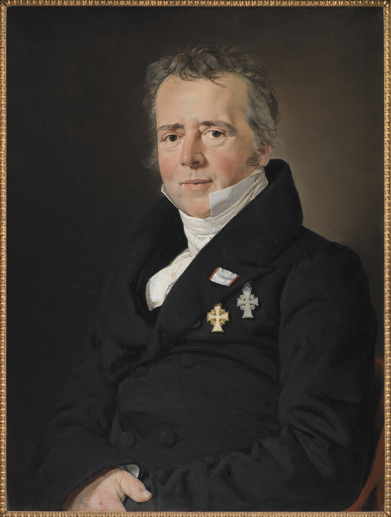 Portrait of the Physicist Hans Christian Ørsted