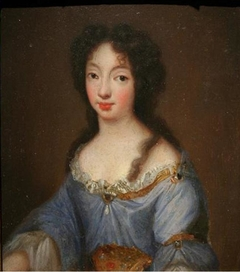 Portrait of Victoire de Bavière, dauphine of France as wife of the Grand Dauphin