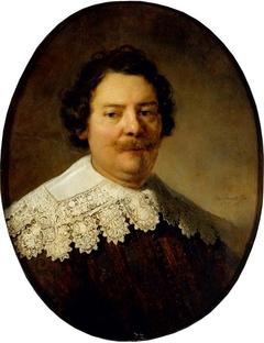 Portrait of Willem Burggraeff, husband of Maertgen van Bilderbeecq
