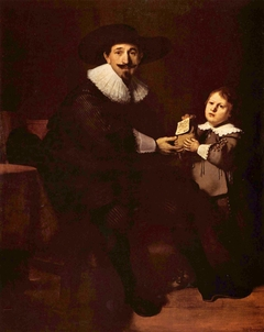 Portraits of Jean Pellicorne and his Son Casper