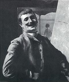 Porträt des Malers Bublitz