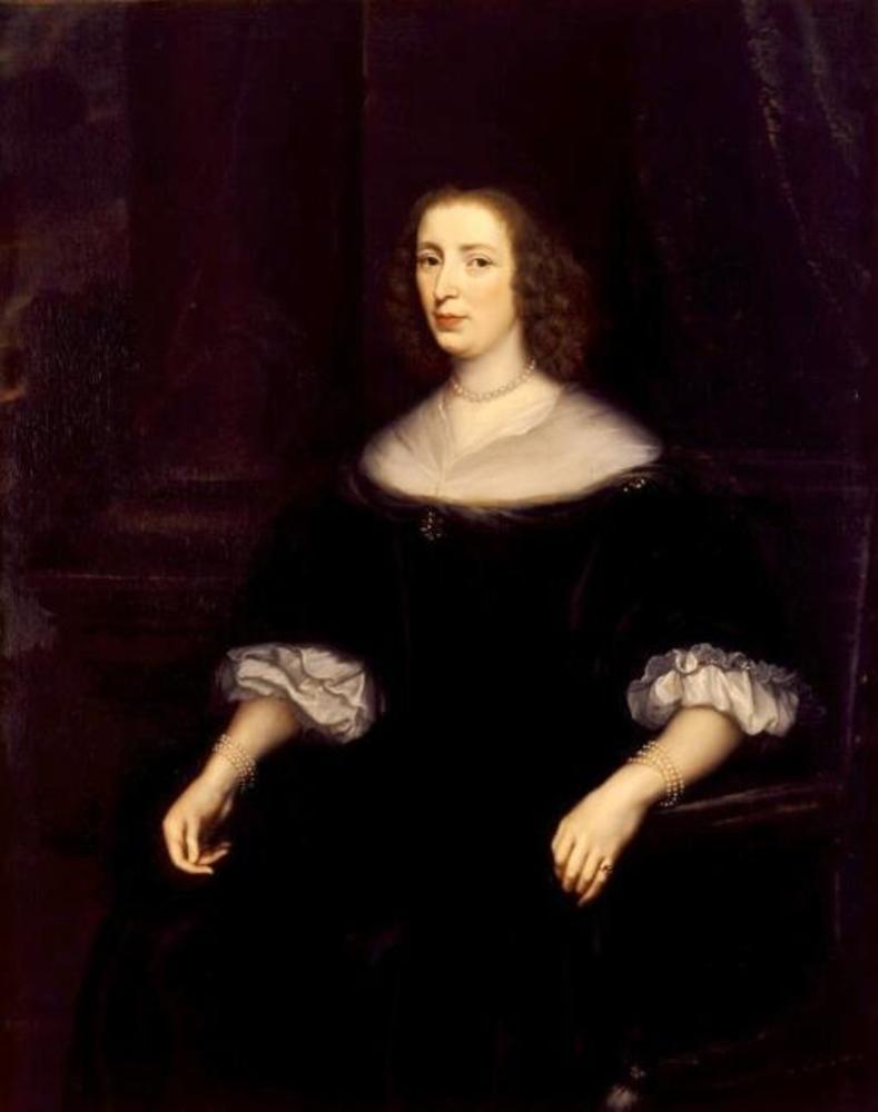 Portret van Anna van den Corput