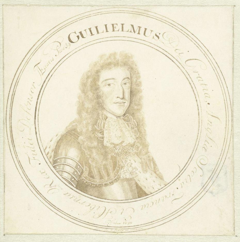Portret van Prins Willem III
