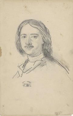 Portret van tsaar Peter de Grote