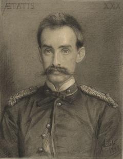 Portret van Willem Anton Gerard Ramaer