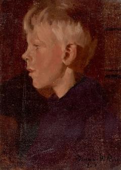 Profile Portrait of a Boy