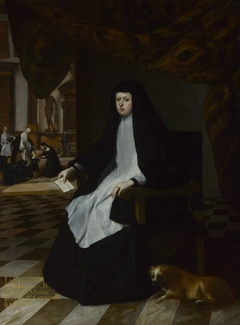 Queen Mariana of Spain in Mourning