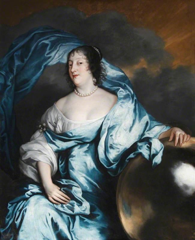Rachel de Massue de Ruvigny, Lady Wriothesley & Countess of Southampton (1603-1640), as Fortune