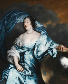 Rachel de Massue de Ruvigny, Lady Wriothesley & Countess of Southampton (1603-1640), as Fortune