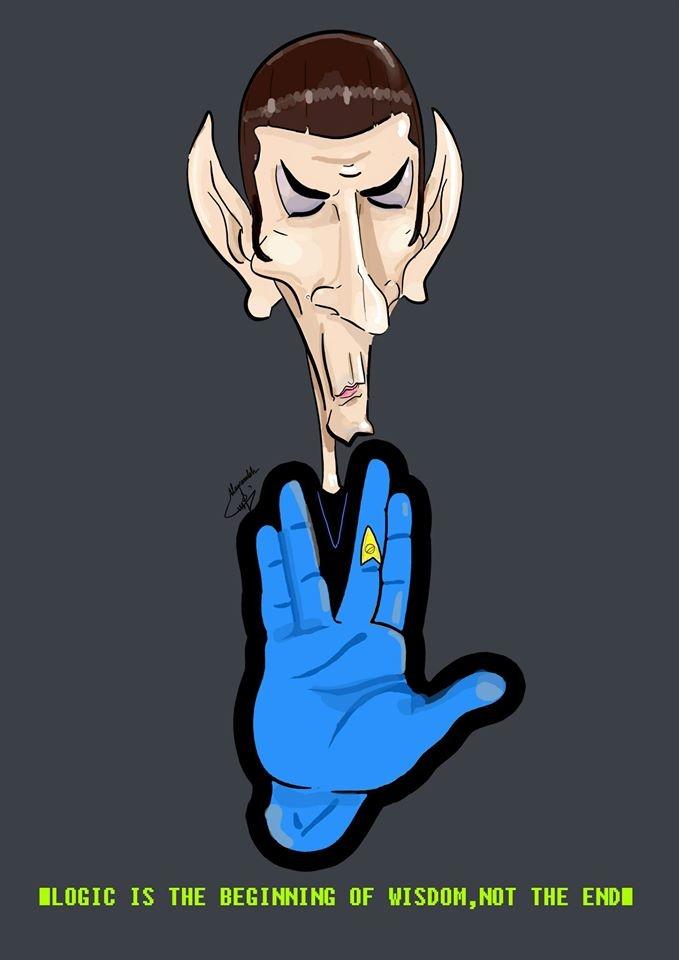 Rip Mr. Spock