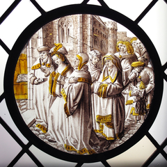 Roundel with Susanna Led to Judgement