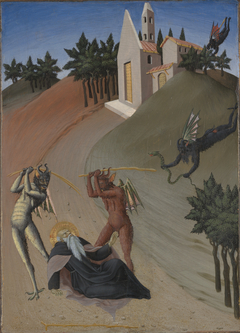 Saint Anthony Abbot Tormented by Demon