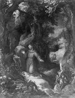 Saint Francis of Assisi Receiving the Stigmata