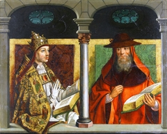 Saint Gregory the Great and Saint Jerome